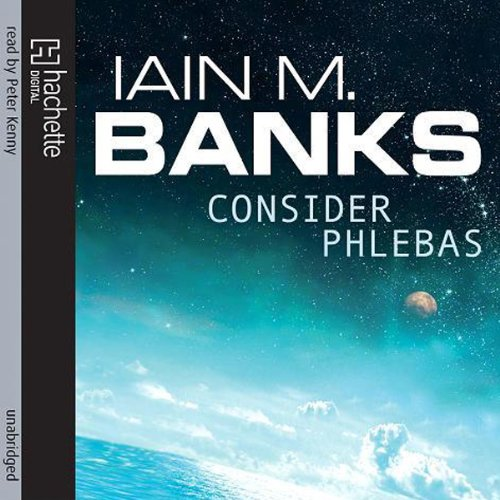 Consider Phlebas audiobook cover art