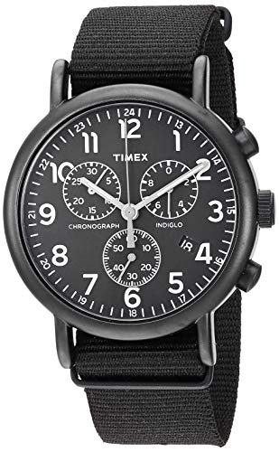 timex-unisex-twf3c8420-weekender-chrono-black-double-layered-nylon-slip-thru-strap-watch