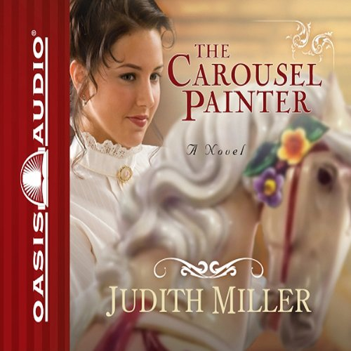 The Carousel Painter audiobook cover art