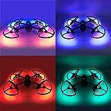 Linghuang Mavic 2 LED - Hélices integradas con estabilizadores de protección de tren de aterrizaje con iluminación colorida para accesorio de Dron DJI Mavic 2 Pro/Zoom