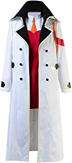 Wish Costume Shop Darling in The Franxx Cosplay Costume Zero Two White Coat and Hat