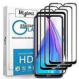 Migimi Protector de Pantalla para Xiaomi Redmi Note 8T, [3 Pack] Vidrio Cristal Templado, [9H Dureza] [Anti-Huella] [Sin Burbujas] HD Film Cristal Templado para Xiaomi Redmi Note 8T