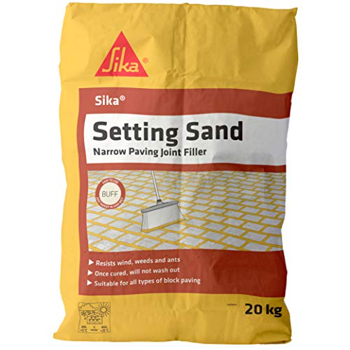 Sika Setting Sand - Narrow Joint Filler For Paving, Buff, 20 kg