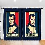 HONGYANW Personalisierte Verdunkelungsvorhänge Napoleon