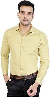 ANU Cotton Formal Shirt for Men (Cream)