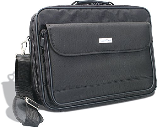 TRENDnet Padded Clamshell Notebook Carrying Case for 15.4 Inch Laptops, TA-NC1