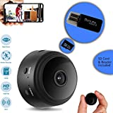 CROMINA Mini Spy Camera Wireless Hidden Home Apartment Office Nanny Cam Cars Indoor