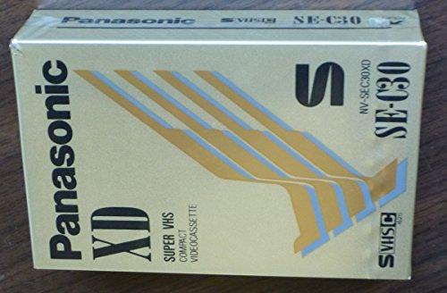 Lowest Price! Panasonic Super High-Grade Videocassette VHS-C TC-40