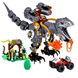 ENJBRICK Dinosaur Building Kit STEM Building Blocks Toys for Boys Ages 8 9 10 11 12 Yrs,Creative Play Building Bricks Set
