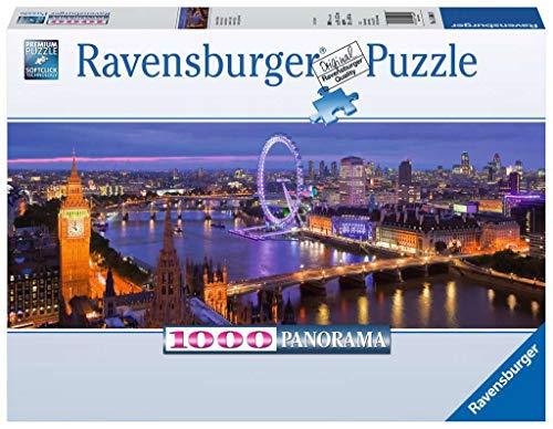 Ravensburger 15064 Londra di Notte, Puzzle 1000 Pezzi, Collezione Panorama, Puzzle per Adulti