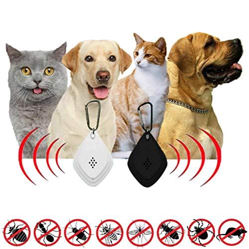 Banma Tech - Repelente de pulgas y garrapatas ultrasónico sin Productos químicos Seguro para Mascotas