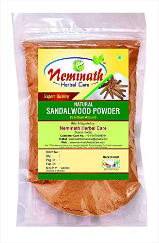 Natural Sandalwood (Santlum Album) Powder 100 gm (3.52 OZ)