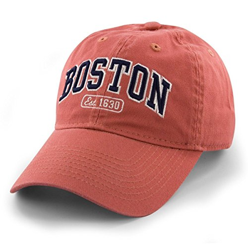Boston Arch Pastime Adjustable Hat - Cape Red