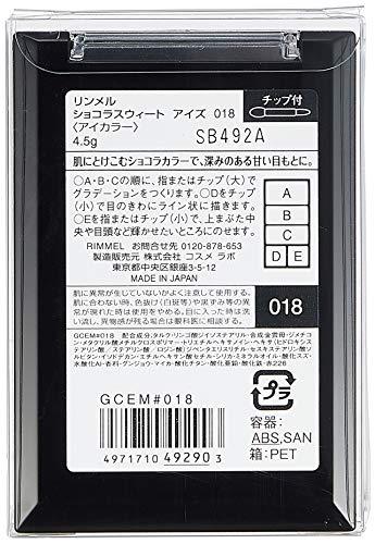 リンメルショコラスウィートアイズ018チェリーミルクショコラ4.5g