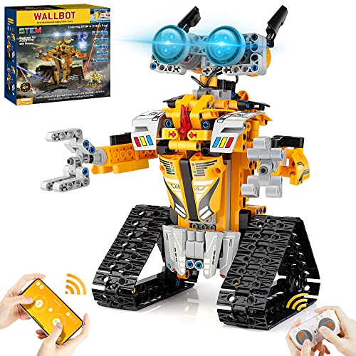 Sillbird STEM Projects for Kids Ages 8-12, Remote & APP Controlled Robot Building kit Toys Gifts for Boys Girls Age 7 8 9 10 11 12-15 (468 Pcs)
