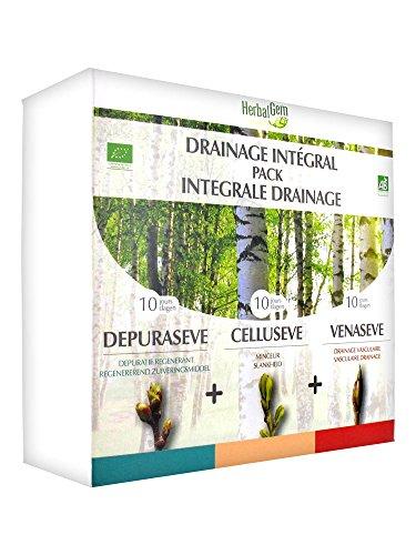 HerbalGem Drainage Intégral Pack de 30 Jours