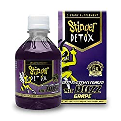 top rated Stinger Detox Buzz 5X Extra Strength Drink – Grape Flavor – 8 fl oz – 2 Pack 2021