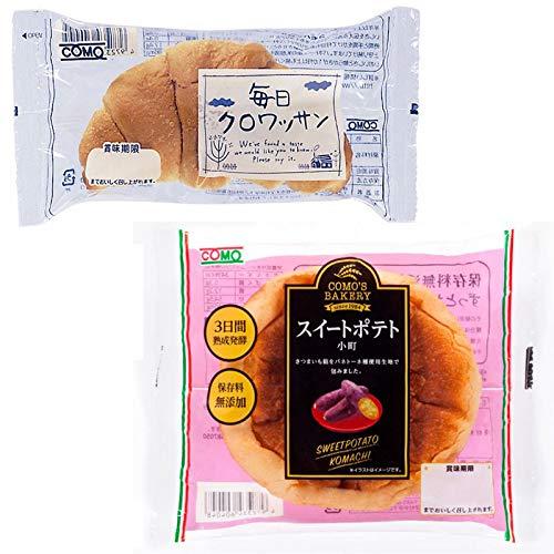 コモパン 毎日クロワッサン(20個)& スイートポテト小町(18個)【セット売り】