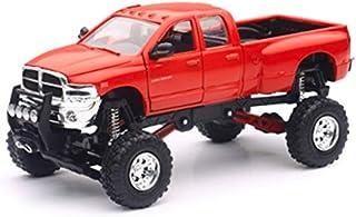 New-Ray Toys Inc, Dodge Ram Hemi 3500 4x4 Pickup Truck Raised w/ Working Suspension
