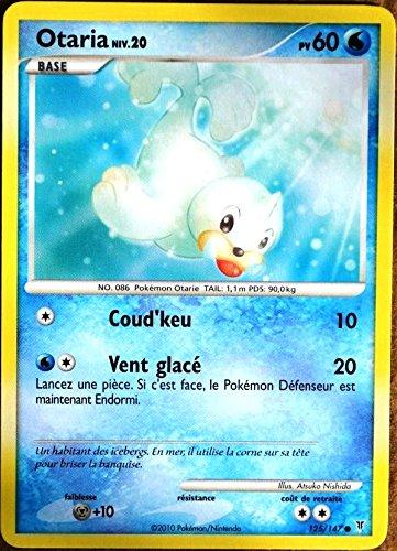carte Pokémon 125/147 Otaria 60 PV Série Platine VS NEUF FR