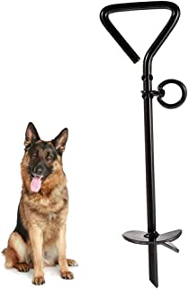 PAWCHIE Tie Out Stake for Dogs Heavy-Duty Pet Anchor for Yard, Ground