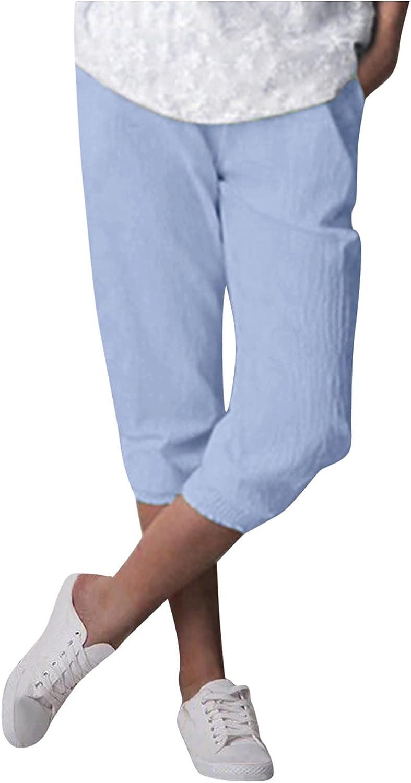 USYFAKGH Women's Pants Wide-Leg Lounge Pant Pajamas Drawstring Elastic Waist Casual Pants Joggers Pants with Pockets