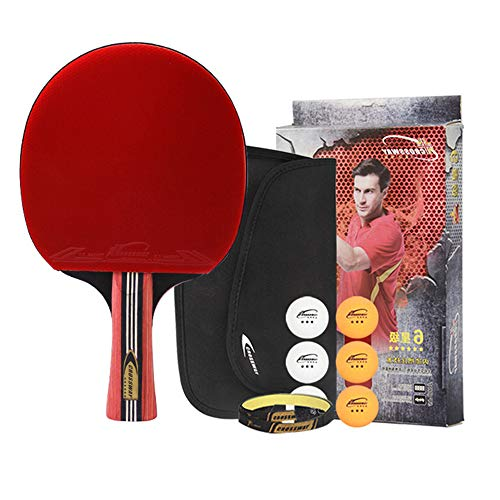 Affordable CLX Table Tennis Racket Finished Shot Single Shot Six 6 Star Shot Horizontal Shot Double-...