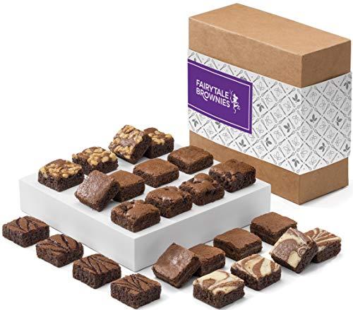 Fairytale Brownies Magic Morsel 24 Gourmet Chocolate Food Gift Basket - 1.5 Inch x 1.5 Inch...