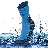SuMade Waterproof Crew Socks, Mens Boys Durable Warm Ventilated Breathable Windproof Military Hiking Biking...