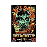 Leinwand-Poster, Rockband Alice Cooper, Schlafzimmer,