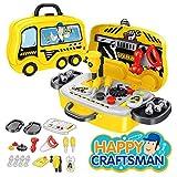 arha iinternational 36 pieces portable engineering toys tool set for kids boys- Multi color