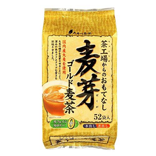 大井川茶園 茶工場からのおもてなし 麦芽 ゴールド麦茶 52包入 416g×2