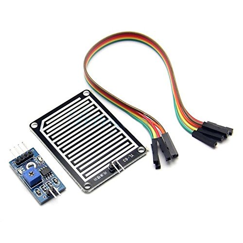 Modulo sensore di pioggia rain drops shield (arduino-compatibile) meteo giardinaggio umidità