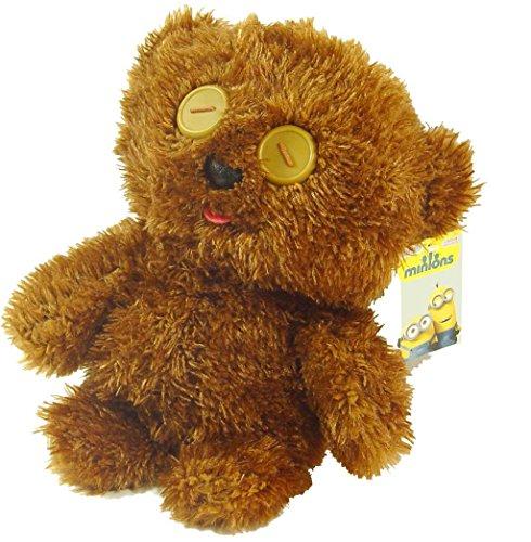 Minions TIM Bobs Teddybär 28cm Kuscheltier Stofftier flauschig Knuddelbär Plüschtier