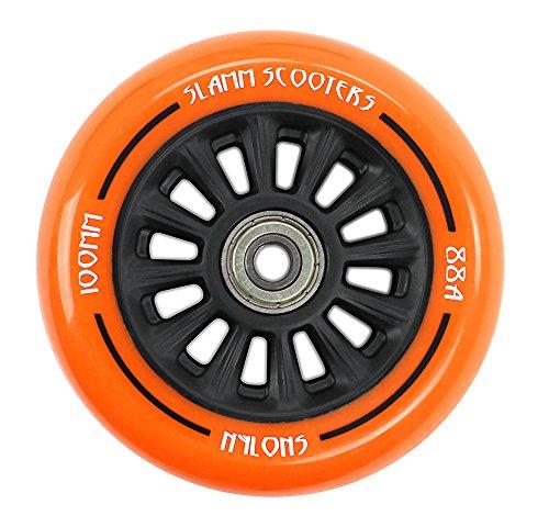 Slamm Scooters NY-Core Ruedas, Unisex Adulto, Orange, 100 mm