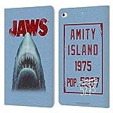 Head Case Designs Officiel Jaws Grunge I Art Clé Coque en Cuir à Portefeuille Compatible avec...