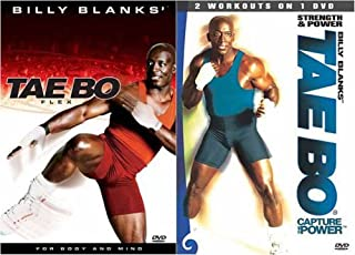 Billy Blanks - Tae Bo - Capture the Power - Strength and Power and Flex (2 Pack)