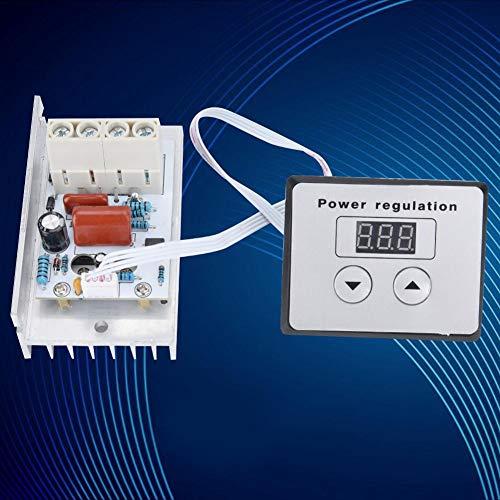 Controlador SCR duradero de disipación de calor mejorado, atenuador estable, blanco para calentadores de agua para estufas eléctricas