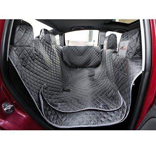 HobbyDog ZBOSZA2 Couverture de protection pour sièges de voiture, avec protection latérale, couverture pour chien