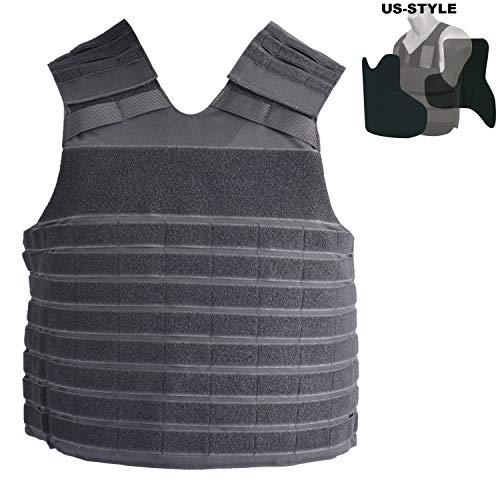 COP® Taktische Molle - Weste US-Style verwendbar mit oder ohne Ballistik (XL/R)