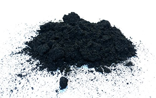 Hanfkohle, gepulvert, feines Holzkohlepulver, hemp charcoal powder, verschiedene Mengen verfügbar (1,0kg)