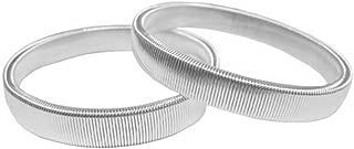 Solid Color Elastic Bracelet Shirt Sleeve Holders Elasticated Metal Armbands
