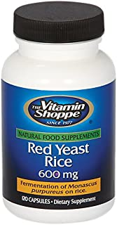 Red Yeast Rice 1200mg, Supports Cholesterol Cardiovascular Health Supports a Healthy Heart, Gluten Free, Dairy Free (120 C...