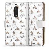 DeinDesign Étui Compatible avec Nokia 5 Étui Folio Étui magnétique Winnie l'ourson Disney...