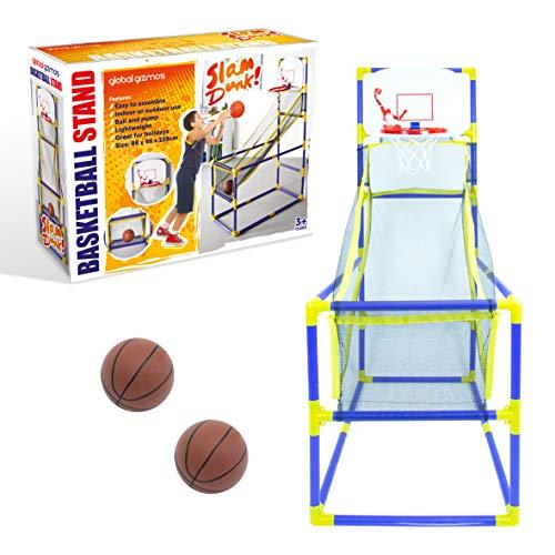 Global Gizmos Arcade 55639 - Aro de Baloncesto para Uso en Interiores...