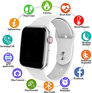 RONSHIN Men Women W34 Bluetooth Call Smart Watch ECG Heart Rate Monitor Smartwatch for Android iPhone