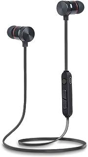 Auriculares Bluetooth 5.0, Inalámbricos Auriculares Bluetooth Deportivos IPX7 Impermeable, conexión magnética, Auriculares Deportivos con micrófono Incorporado SAN.COMO