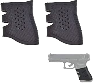 TEKCAM Universal Tactical Grip Glove Sleeve Pistol Handgun Rubber Grip Compatible with Glock 17 19 20 21 22 23 31 37
