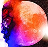 by burning desire Poster Man on the Moon Kid Cudi, gerollt,