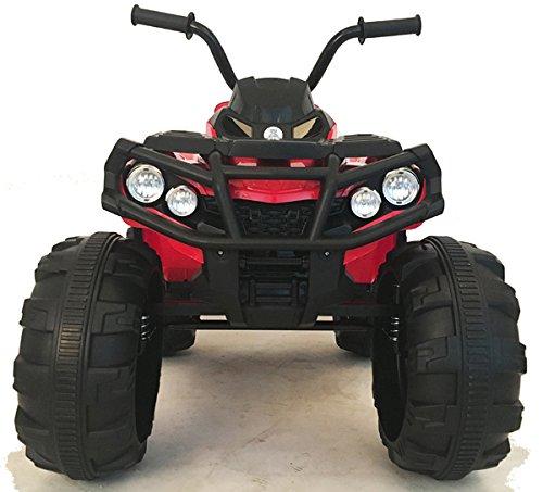 12V Kinder QUAD / ATV mit 2x Motoren Kinderauto Kinderfahrzeug Kinder Elektroauto mit Fernbedienung /echtes FM-Radio/mp3/USB/SD Leser/Federung